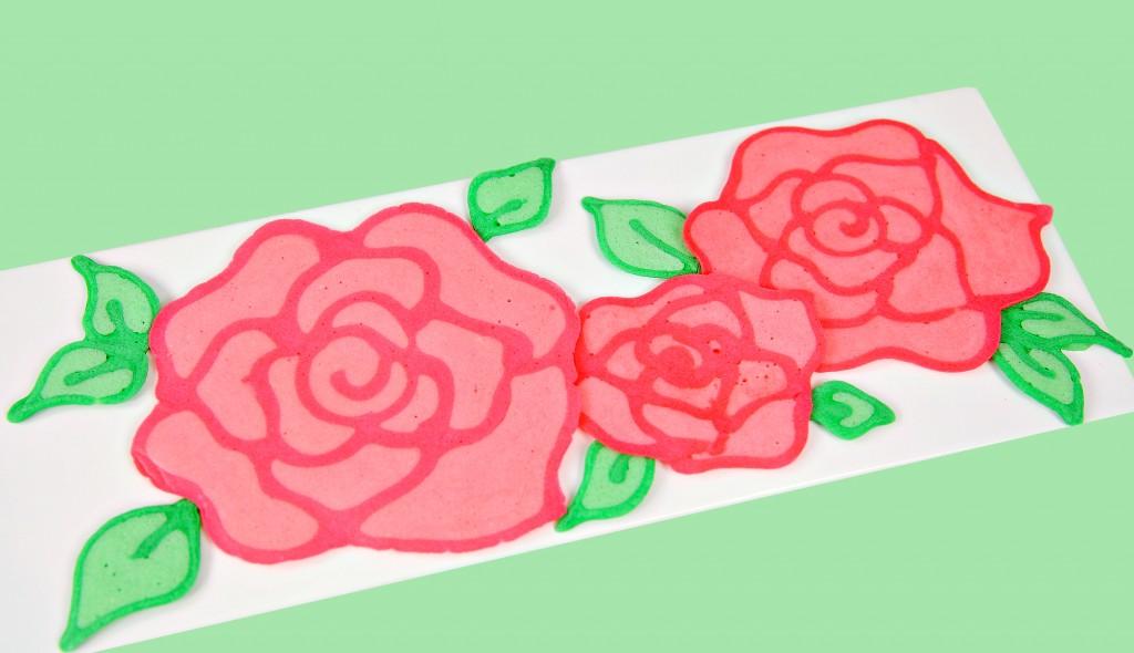 Rose Pancakes 1