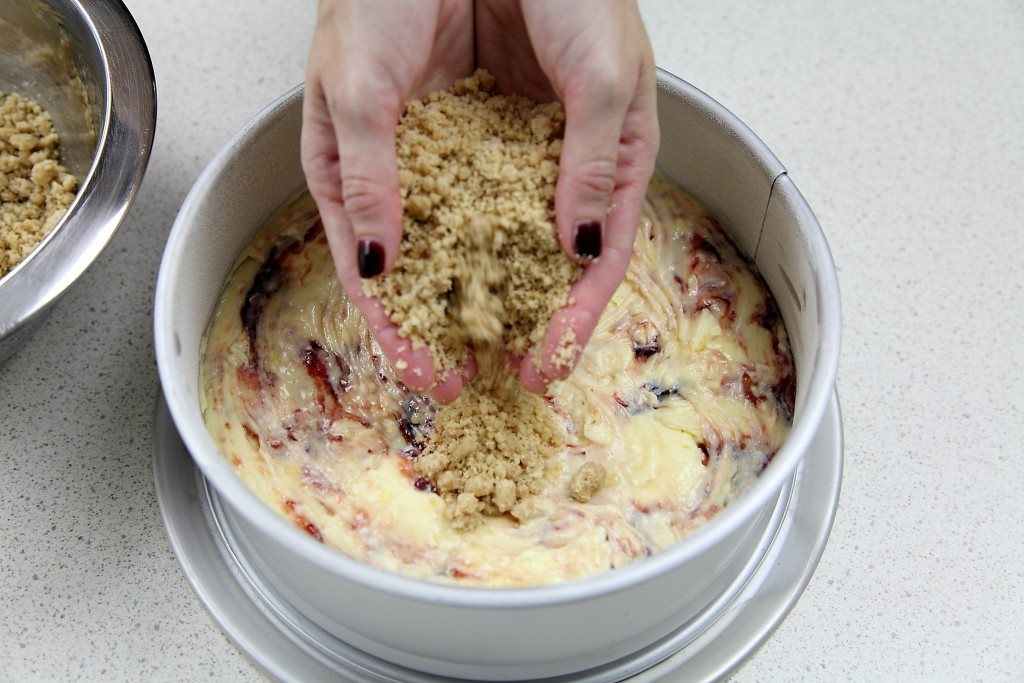 Strawberry Crumb Cake 6