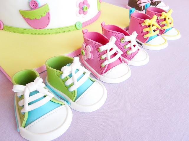 Fondant Converse Shoe