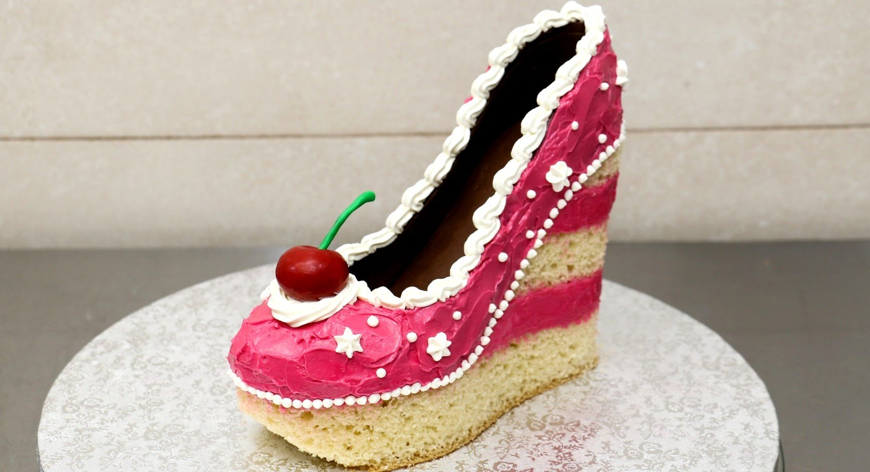 Birthday Cake Designs Shoes : Shoe Cakes - Cake Style