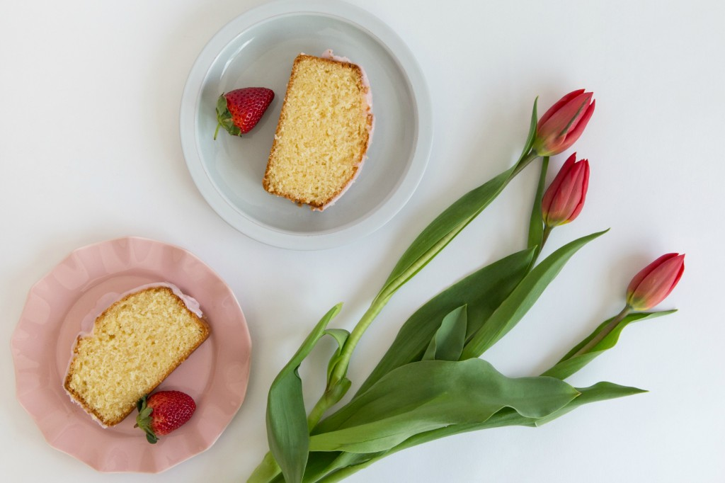 Lemon Strawberry Loaf 5