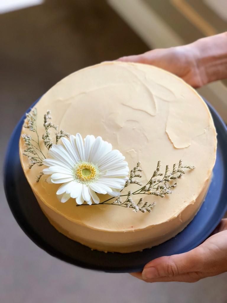 Triple Citrus Cake