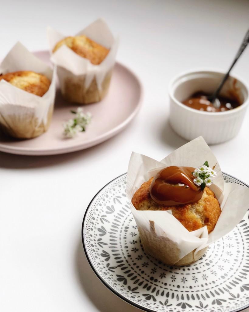 Caramel apple muffin 2